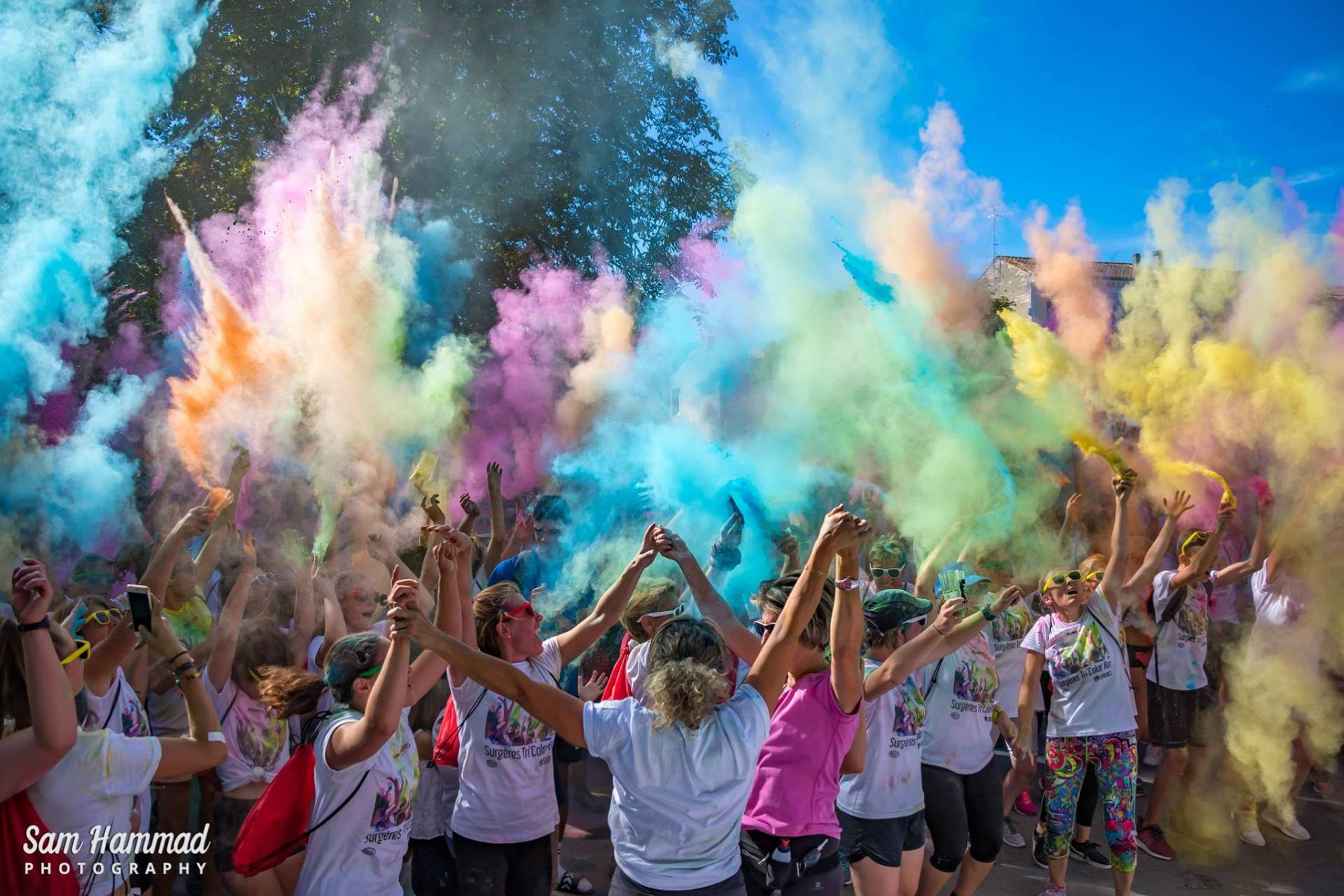Surgères Tri'Color Run #1 : retour en images