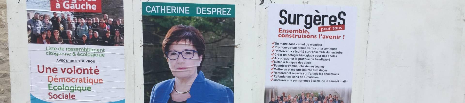 Résultats des élections municipales 2020 Surgères