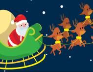 Arrivée du Père-Noël