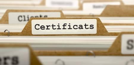 Certificats divers