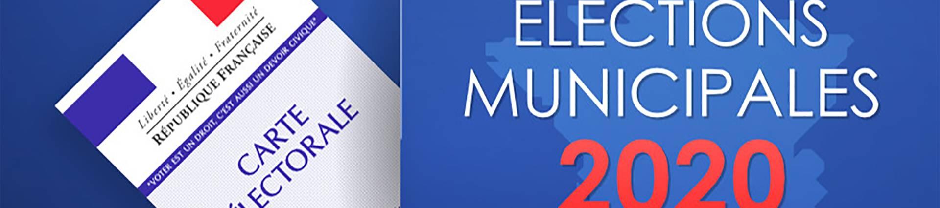 Elections municipales et mesures d'hygiène